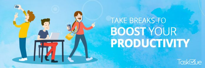 6 Creative Ways that Convert Your Breaks into Productivity Enhancers - TaskQue Blog