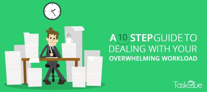 Overwhelming Workload - TaskQue Blog