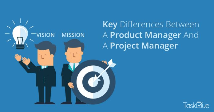 Key Differences Between a product manager and a project manager - TaskQue Blog