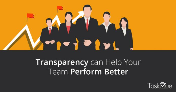 How Transparency can Help Your Team to Perform Better at Workplace? - TaskQue Blog