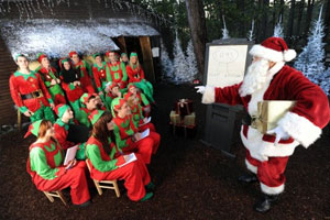 Image result for santa delegating to elves