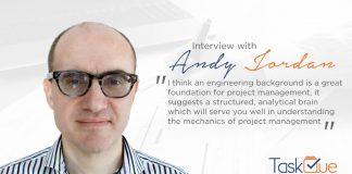 Portfolio Management Coach Andy Jordan - TaskQue Blog