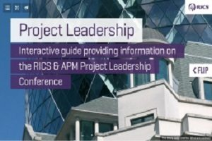 RICS and APM Project Leadership Conference - TaskQue Blog