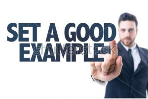 Set a Good Example - TaskQue Blog