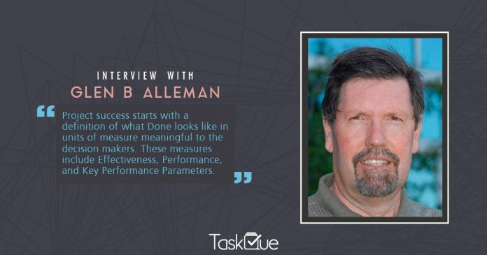 Glen B Alleman interview
