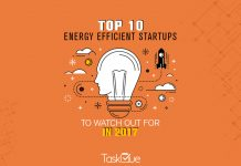 Energy efficient startups in 2017 - TaskQue Blog