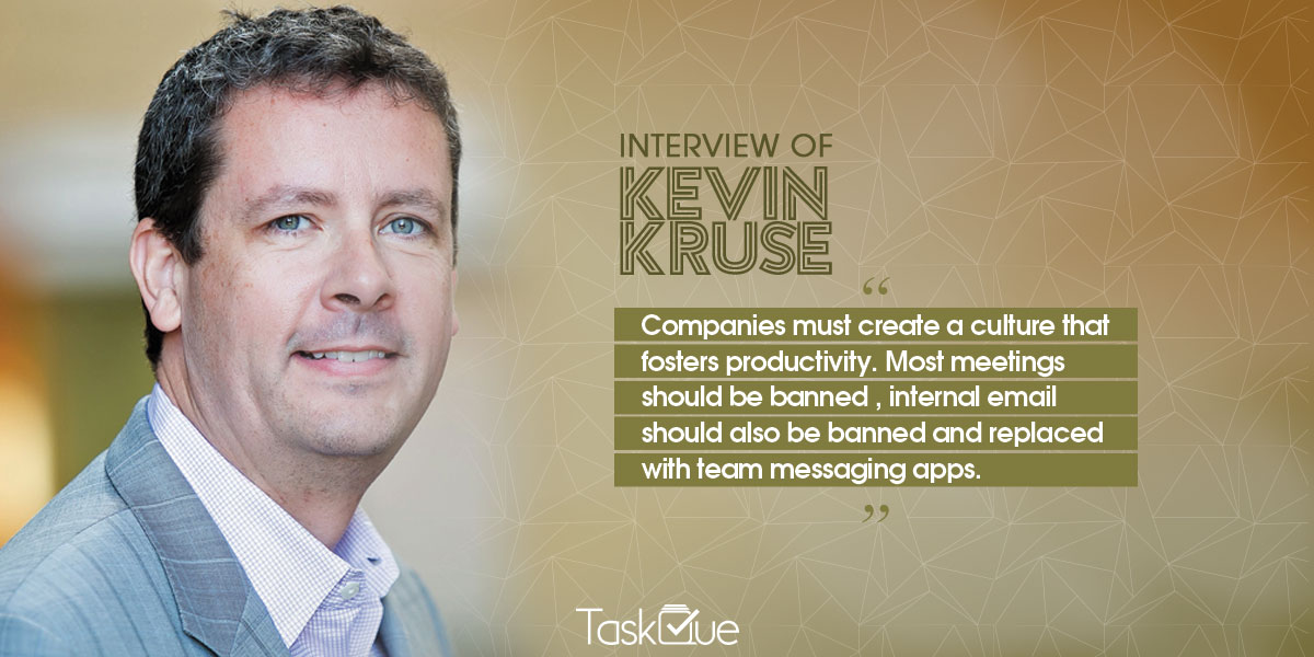 Best Productivity Tips shared by Productivity expert Kevin Kruse