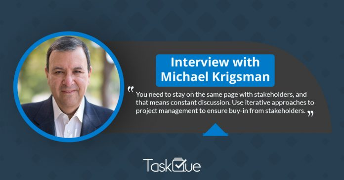 Interview With founder of CXOTALK , Michael Krigsman