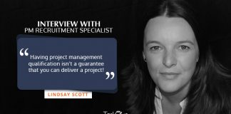 Lindsay Scott Project Management Recruitment specialist interview with TaskQue