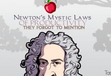 Newton's Mystic Laws of Productivity