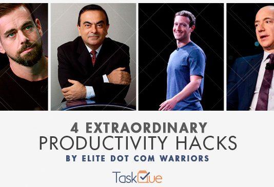 Productivity Hacks of Jeff Bezos and Mark Zuckerberg