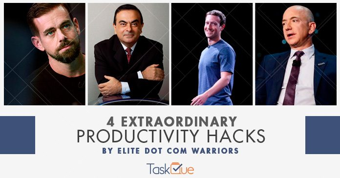 Productivity Hacks of Jeff Bezos and Mark Zuckerberg
