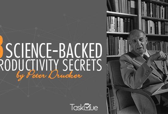 Productivity Secrets by Peter Drucker