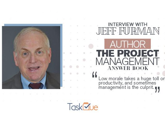 Project Management Answer Book Author, Jeff Furman