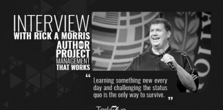 Project Management Certified Professional Rick A. Morris Interview with TaskQue