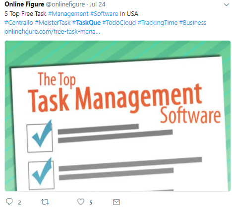 task management software tweet