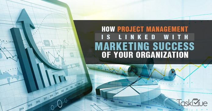 How marketing and project management is linked