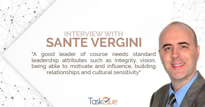 Sante Vergini interview