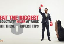 overcome biggest productivity killers at work