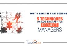 How to make the right decisions by project managers