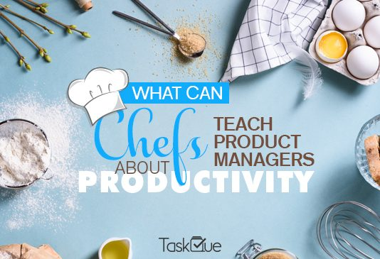 Chefs teach product managers on productivity