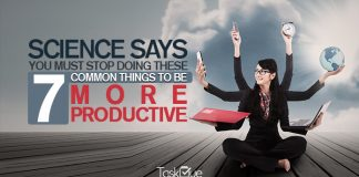Common Things to Be More Productive