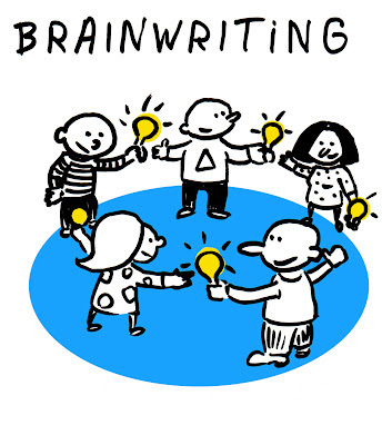 brainwriting brainstorming technique