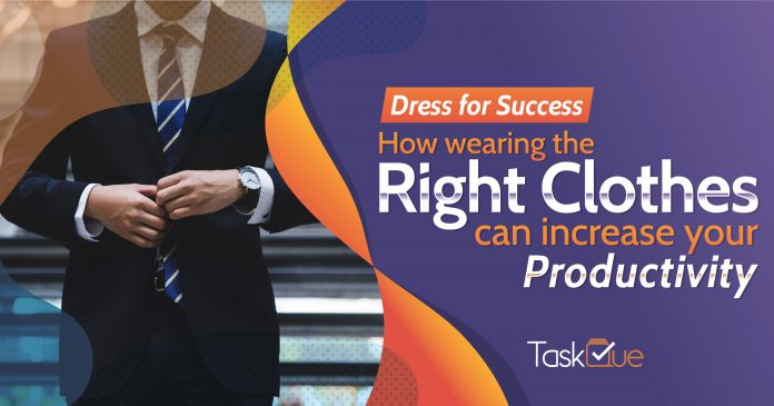 e40142d92 Dress for Success  How wearing the right clothes can increase your ...