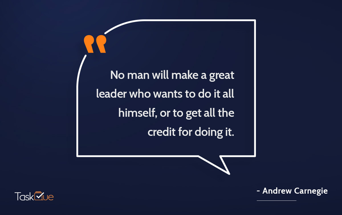 Leadership Quote by Andrew Carnegie