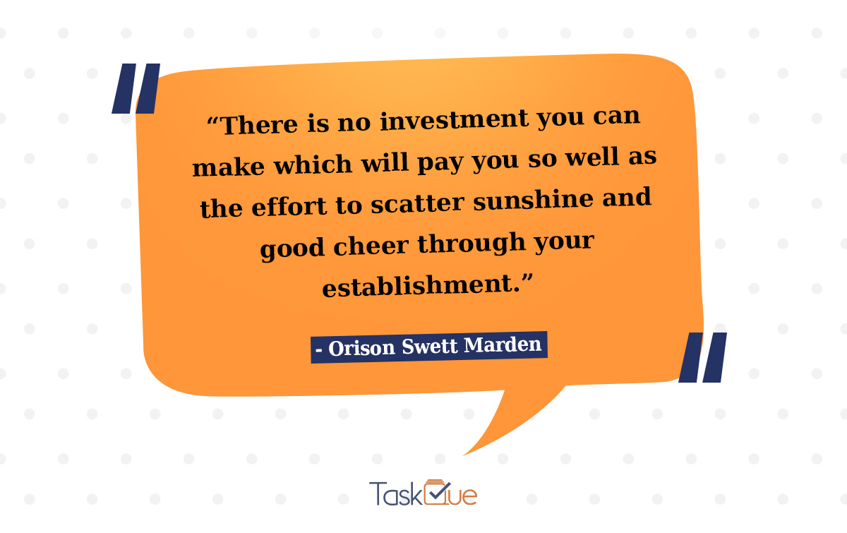 Leadership Quote by Orison Swett Marden